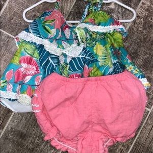 Tommy Bahamas baby girl outfit